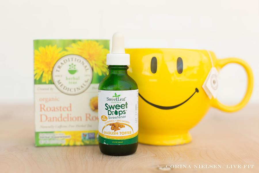 Dandelion Tea With Stevia