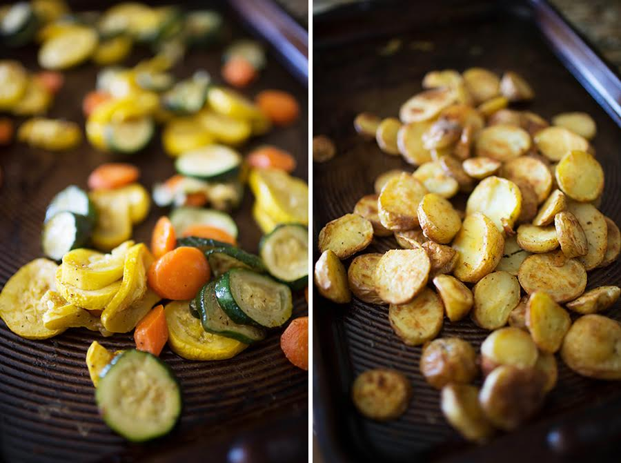meal prep roast veggies