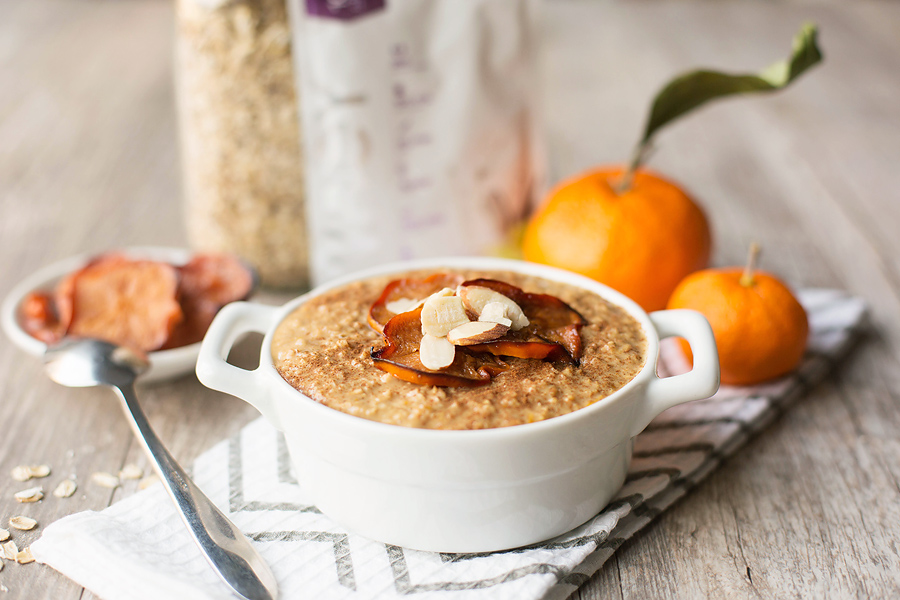 Orange protein oatmeal recipe